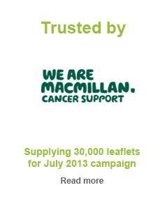 trusted by MacMilan Cancer Support